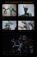 The Making of Malthael by Exubiuz
