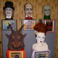 A Gallery of Ghouls by Mr-Mordacious