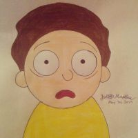 Morty Smith from Rick and Morty by yahoo201027