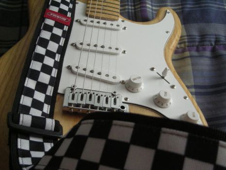 1600 asche stratocaster by D-to-David