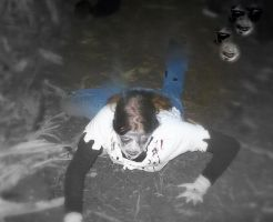 Crawling Zombie by SpectratheRestless