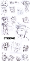 Style Practice - Steeve - by Stickmanwww