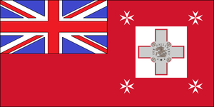 Malta Ensign by dragonvanguard