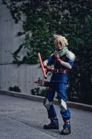 Cloud Strife: Melee by Malindachan