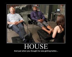 House Demotivational Poster by Magneto666666