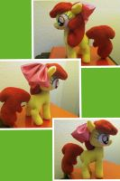 Apple Bloom Plushie by PetrucciosPlushies