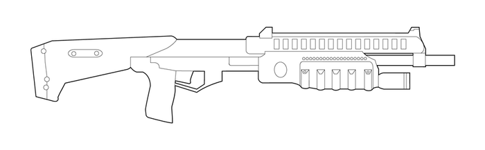 how to draw halo weapons