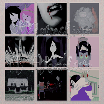 Marceline A. Abadeer {Moodboard Aesthetic} by PsychoPixieEditions