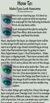Making Awesome Eyes Tutorial by sd-stock