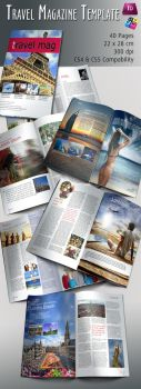 Travel Magazine Template by BALKAy