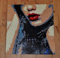hama beads work. by buvino