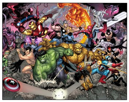 Marvel Point One Cover. by MarteGracia