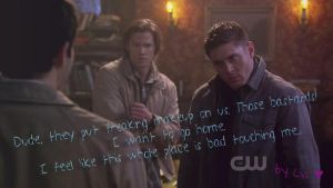 Supernatural - funny season 6 by BaDBuNnYyY