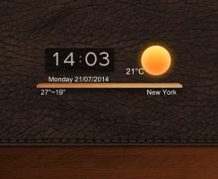 Wooden Dock (MIUI Rom) for xwidget by jimking