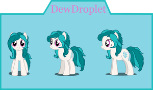 Dew Droplet Puppet Commision by Mystic-L1ght