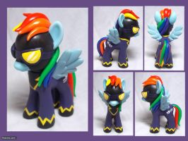 Shadowbolt Dash Custom Toy by CadmiumCrab
