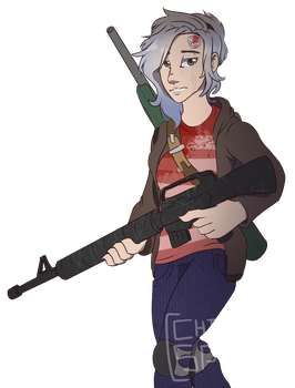 Audrey [Dust] by Chilled-Space