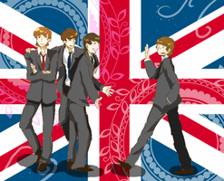 The Beatles by Shimejiro