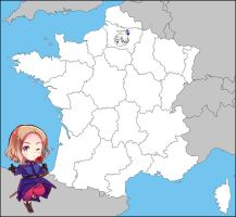 APH: Map of France by jjblue1