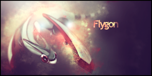 Flygon Signature by murr3