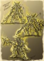skeleton army sketches by loztvampir3