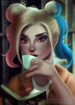 Harley Quinn tea time by joacoful