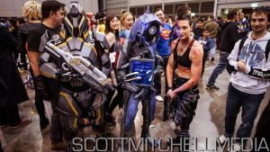 Mass Effect cosplay: N7 Destroyer, Legion + Vega by DashyProps