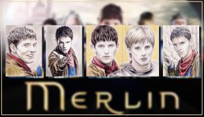 Merlin PSCs x5 by whu-wei