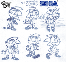 Adventures of SONIC Design by AndrewArtist