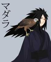 Madara and Red Kite by FireEagleSpirit