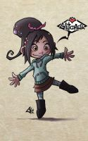 Day 9-Vanellope von Sweetz by G-Chris