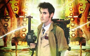 The Doctor Ghostbuster by thejediagent