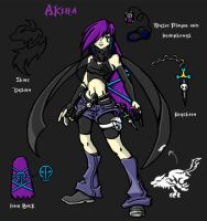 WEWY character Akira by Laxia