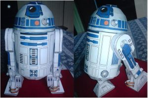 R2-D2 Papercraft by mortadela91
