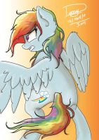 Rainbow Dash Warrior? by Praquina