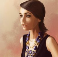 Lilly Collins by ThisIsArtMaybe