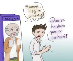 Unboxing del abuelo? | Vegetta777 by Jazz-13