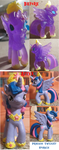 Before and After: Princess Twilight Sparkle by FelidaeSilvestris