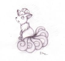 Vulpix by rahless