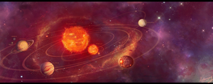 Planetary System by valuneird