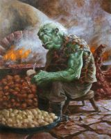Orc Cook by SidharthChaturvedi
