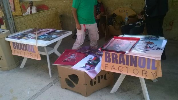 Brainoil factory stand 2014 by bloodsplach
