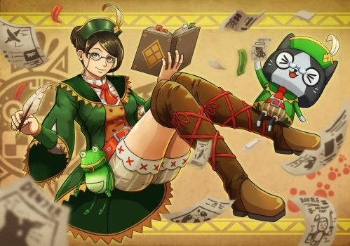 Guildmarm's Notes by emubi