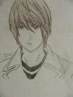 Light Yagami by ilovescaryklowns