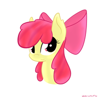 An Apple Bloom portrait by Wonder-Waffle