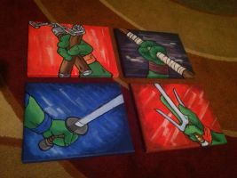 Ninja Turtles by TrioxinKustoms