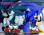 sonic and werehog wallpaper by shoppaaaa
