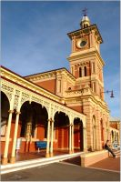 Albury railway station by wildplaces
