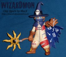 Clay Wizardmon by HeyLookASign