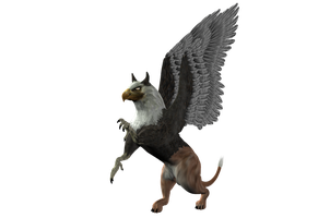 STOCK PNG gryphon3 by MaureenOlder